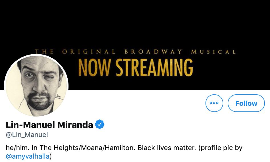 Debt of Gratitude: Lin-Manuel Miranda and the Politics of US Latinx Twitter